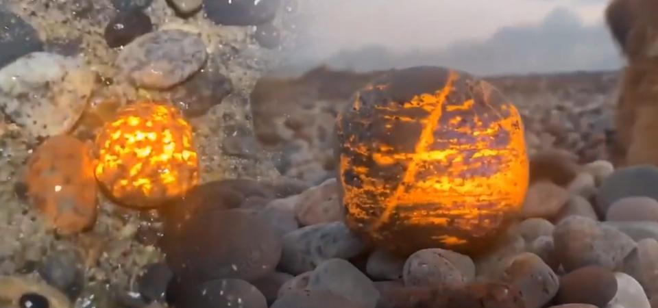 男子野外捡到漂亮石头,专家鉴定后大呼:无价之宝!