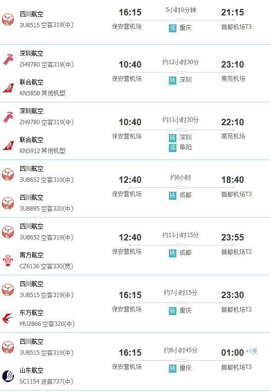 攀枝花到北京有多少航空里程
