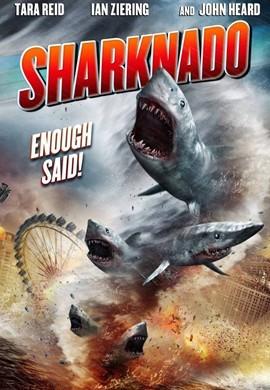 鲨卷风电影海报