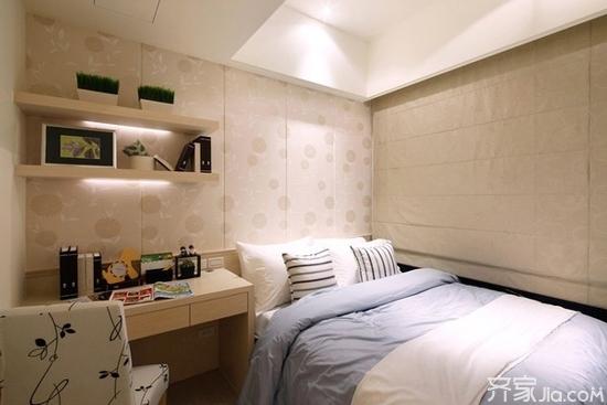 小户型卧室装修技巧 三联
