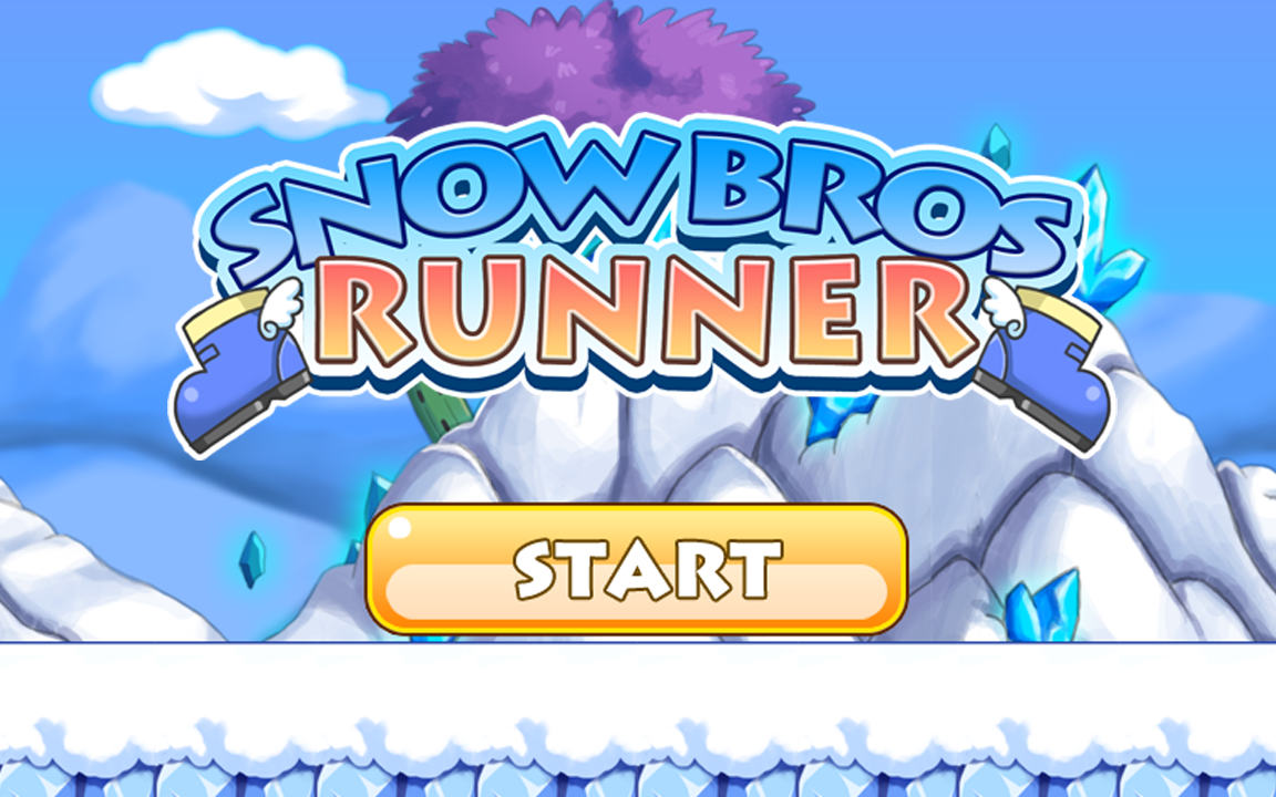 游戏 snow bros runner