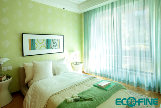 現代簡約風格窗簾效果圖