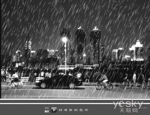 """会声会影13后期处理教程 打造雨中的""""梦境都市"""""""