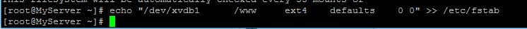 CentOS磁盘如何挂载?