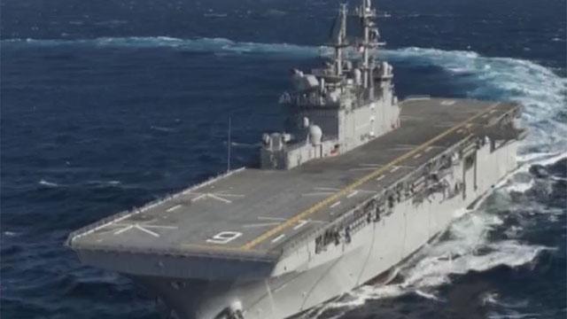 《军情解码》20170720美国两栖攻击舰开赴亚太
