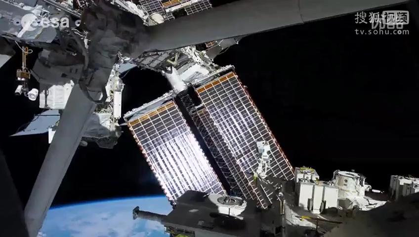 (2014. 12) 欧洲航天局发布空间站拍摄壮丽的太空及地球影像_高清
