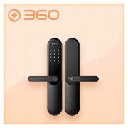 360智能门锁M1青春版全自动智能家用防盗密码指纹锁防猫眼门锁