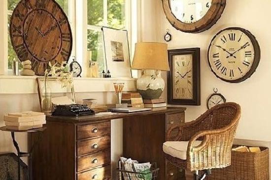 美式书房家具搭配推荐