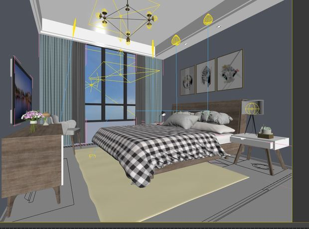 3DMax渲染窗口和视图为什么不一样?