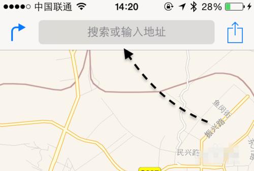 苹果手机地图搜索记录怎样删除?