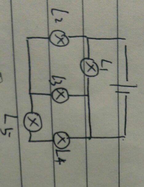 初三物理。求教如何走比较复杂的电路图。比如