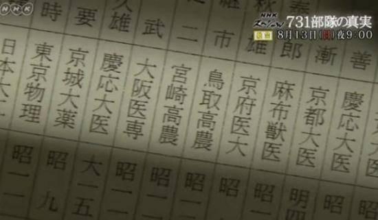 日本NHK播731部队纪录片 中国人必看!