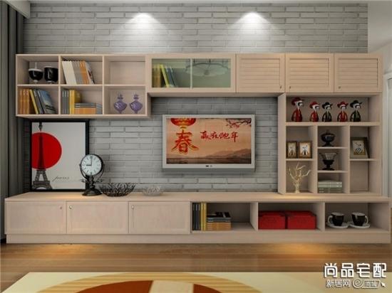 新古典装修风格电视背景墙的特点 三联
