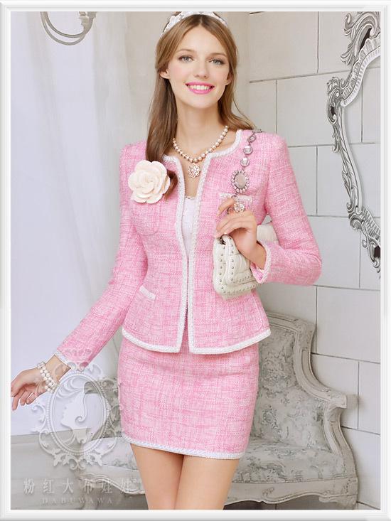 土豪金颜色值_我买了下图这套粉色套装,不知道配什么鞋子好看啊?靴子还是 ...