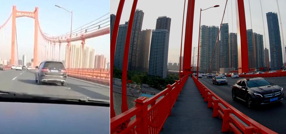诡异!武汉大桥突现离奇摇晃车主险呕吐
