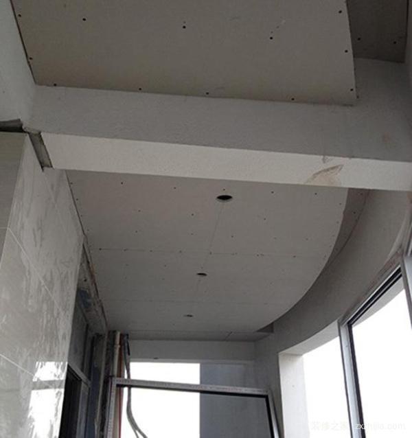 陽台石膏板吊頂