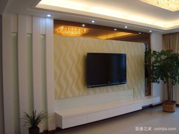 装修房子电视背景墙