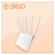 360安全路由器V4 双千兆 无线路由器 1200M高速5G双频wifi信号放大 四天线智能穿墙家用视频加速