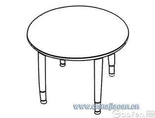 桌子怎么画