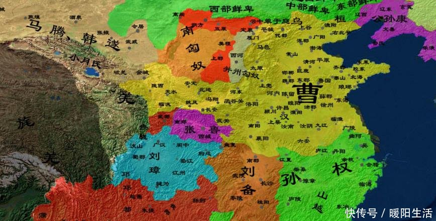 三国详细地图全图高清版_中国地图精确到县高清_全国政区图高清版大图 - 随意贴