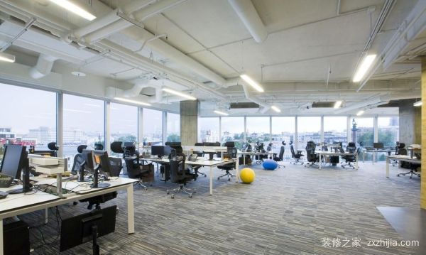 现代办公室装修风格