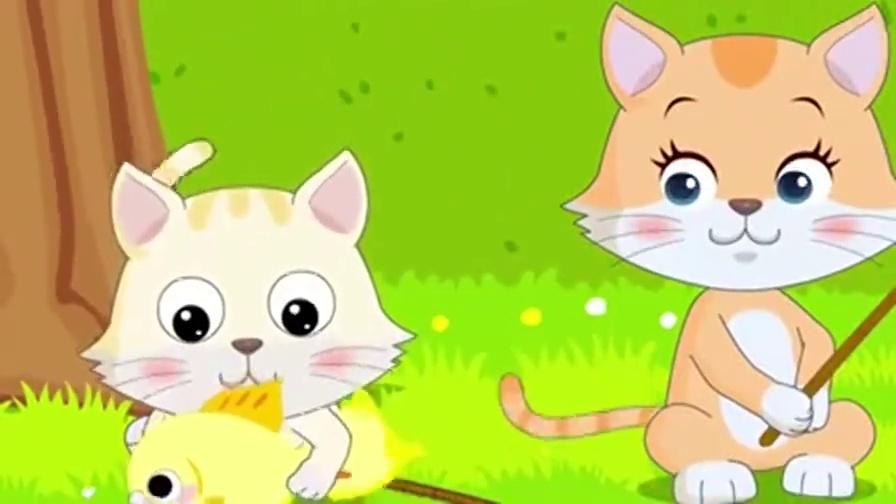故事_幼儿故事视频大全 小猫钓鱼