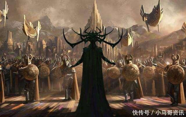 雷神姐姐_前段时间在热映的《雷神3》中,雷神的姐姐海拉徒手捏爆雷神锤引起了