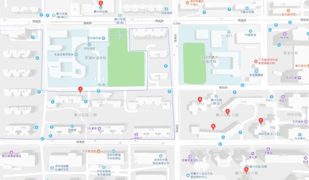 莲塘鹏兴花园有篮球场吗
