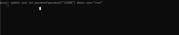 mysql这里我输入下面的命令出现这个是什么原因呀