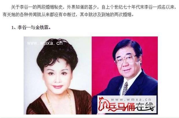李谷一和徐子崴是母子关系吗