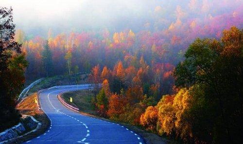 祖国四季风景图片