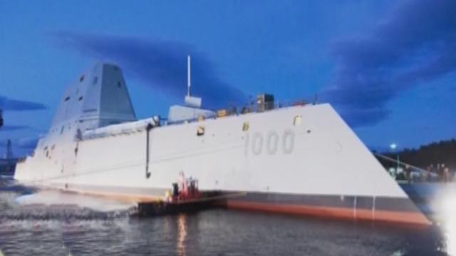 《军情解码》20170207中国新一艘052D驱逐舰