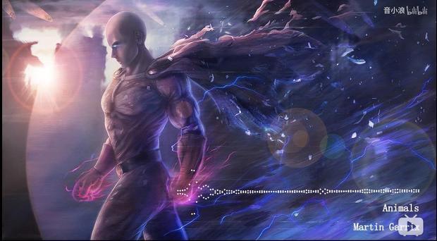 请问谁有一拳超人埼玉老师的这张星空图