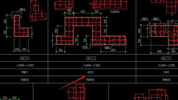cad打开建筑图纸钢筋符号部分显示问号
