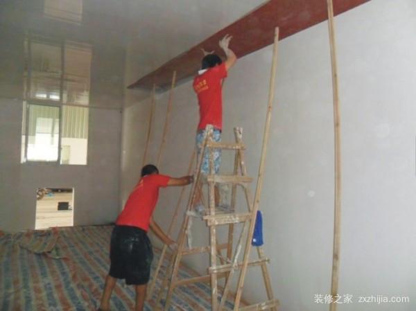 老房装修墙面粉刷