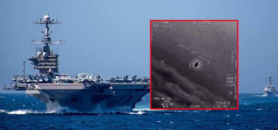 美军首次正式公布UFO视频:真的遇到过 飞行动作太诡异!