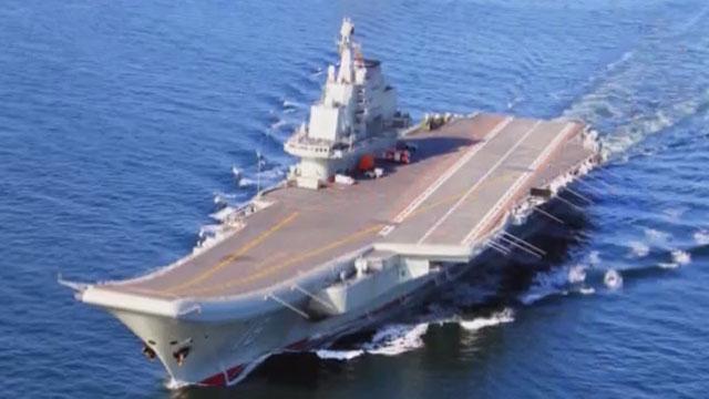 《军情解码》20170521中国航母