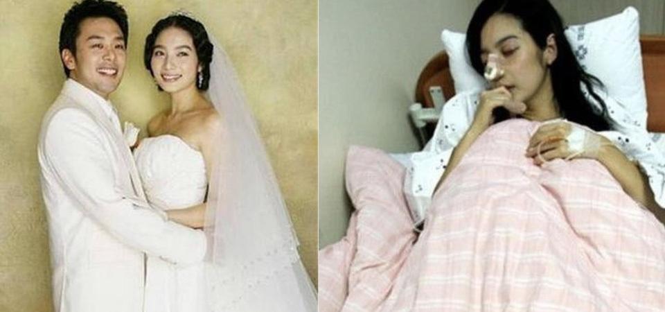女星遭家暴新婚13天被打到流产,如今42岁终身不孕!