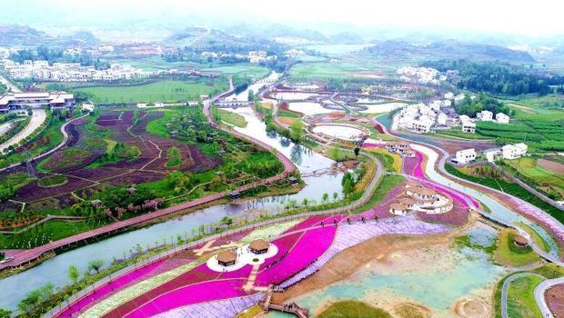 朋友去贵州旅游去了一个叫山里江南的景点说挺好玩的,有朋友有那的实拍图么?