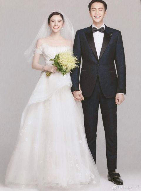 唐藝昕婚紗名字 取自兩人名字諧音