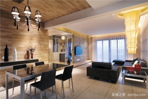 90平米两室一厅装修
