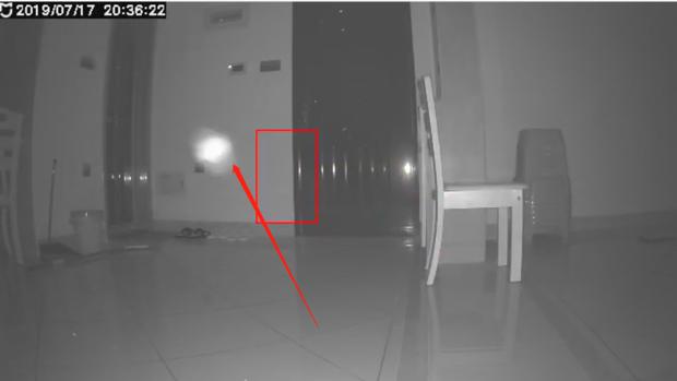 米家摄像头夜间捕拍到小白点?请科普