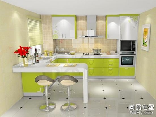 厨房用什么颜色瓷砖最好 三联