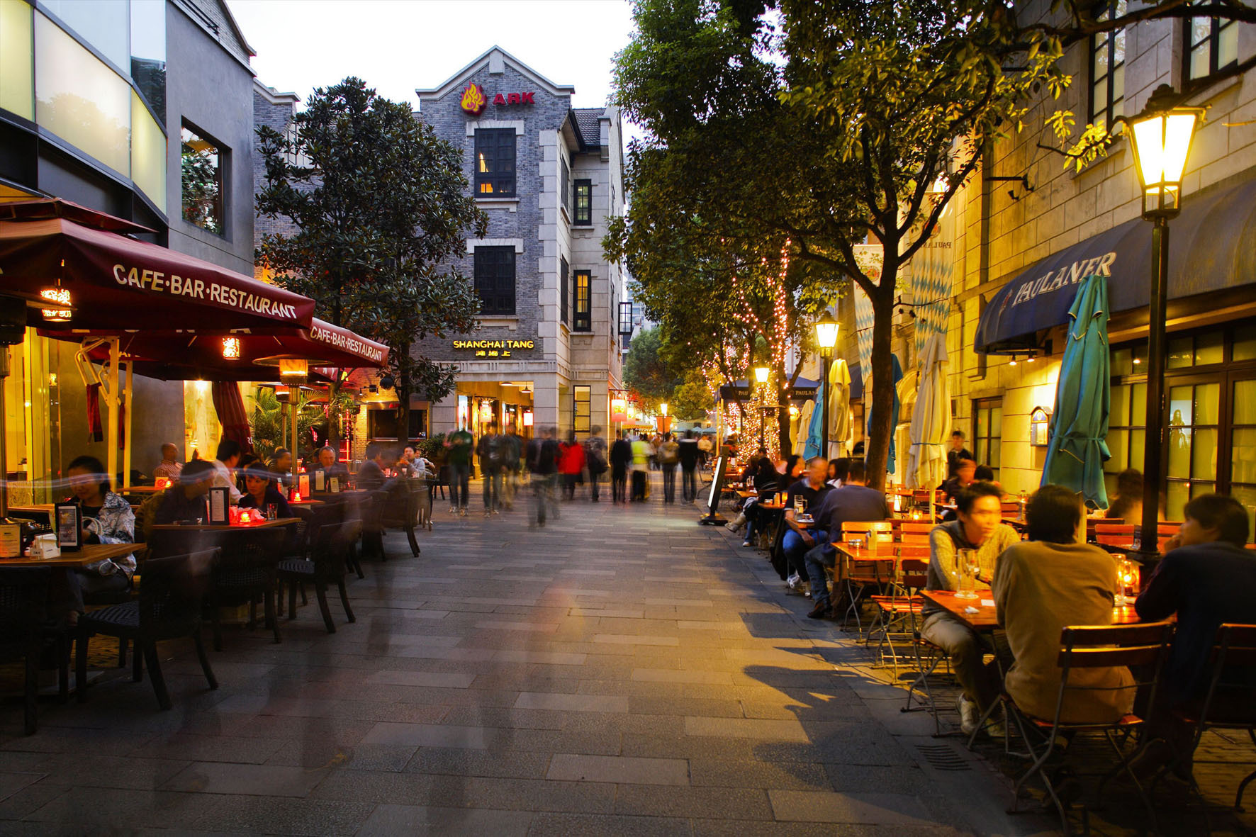中国小镇街道风景