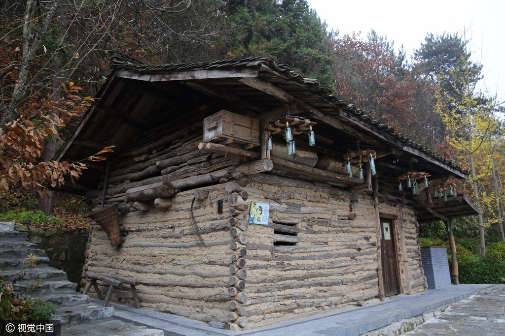 陜南新農村房屋