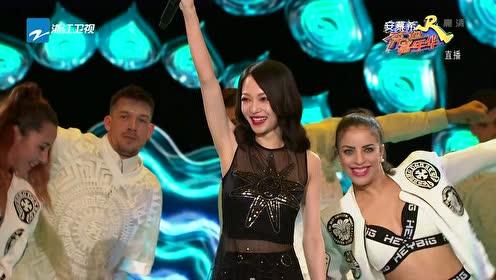 张韶涵打头阵演绎《欧若拉》,惊艳嗓音还和当年一样