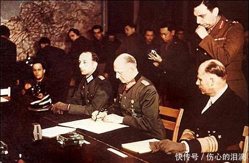 面對德國將領的挑釁,他只說了兩句話,德國將領就涼了