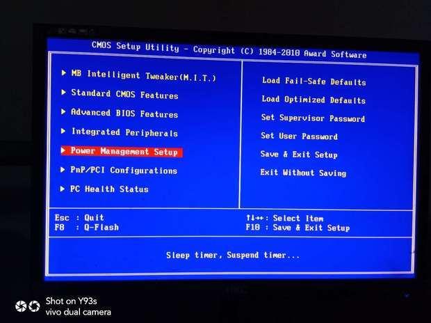 BIOS长这样怎么开AMD-V。。。BIOS太老了
