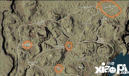 绝地求生刺激战场沙漠地图跳伞位置怎么选择 跳伞位置推荐