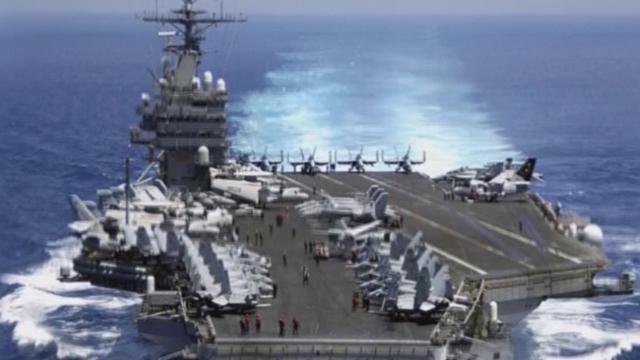 《军情解码》20170227美军两大舰队